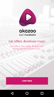 Akazoo MP3 Downloader- screenshot thumbnail
