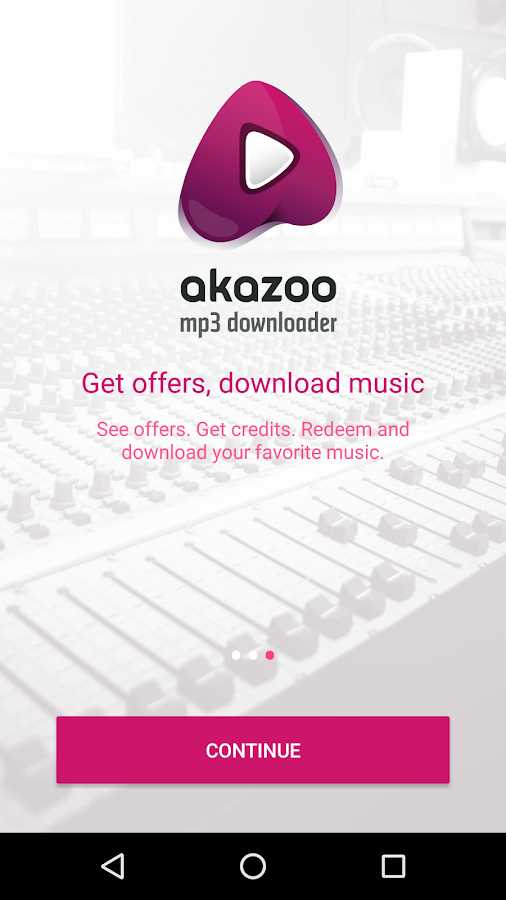 Akazoo MP3 Downloader- screenshot