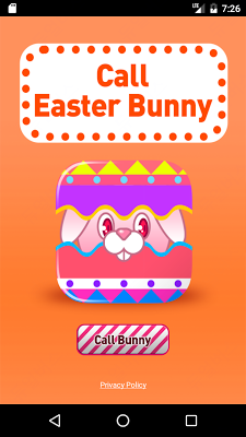 Call Easter Bunny - screenshot