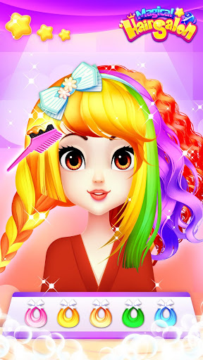Magical Hair Salon: Girl Makeover 1.1.4 screenshots 5