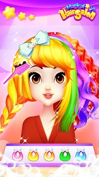 Hair Salon Games: Girl Makeover