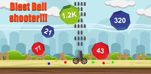 Ball Blast game - shoot the jumping balls and destroy them using cannon.
