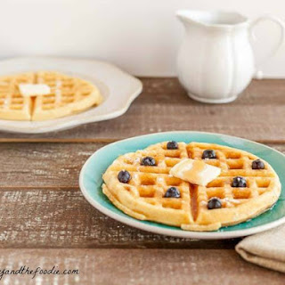 Low Carb Buttermilk Waffles.