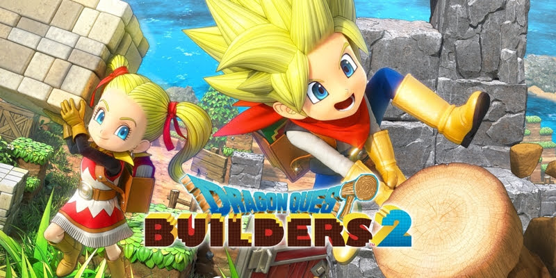 Game Release July Dragon Quest Builders 2