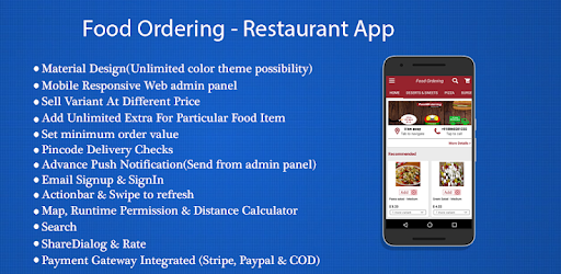 Food Ordering - Restaurant App Demo - Apps on Google Play
