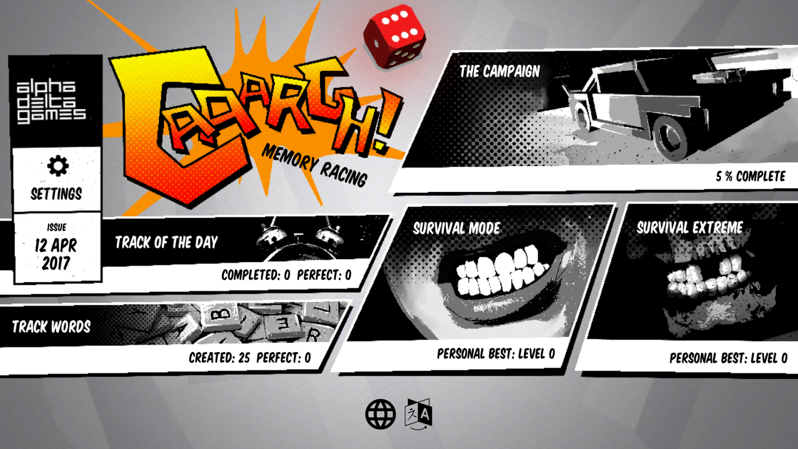 CAAARGH! A Memory Racing Game- screenshot
