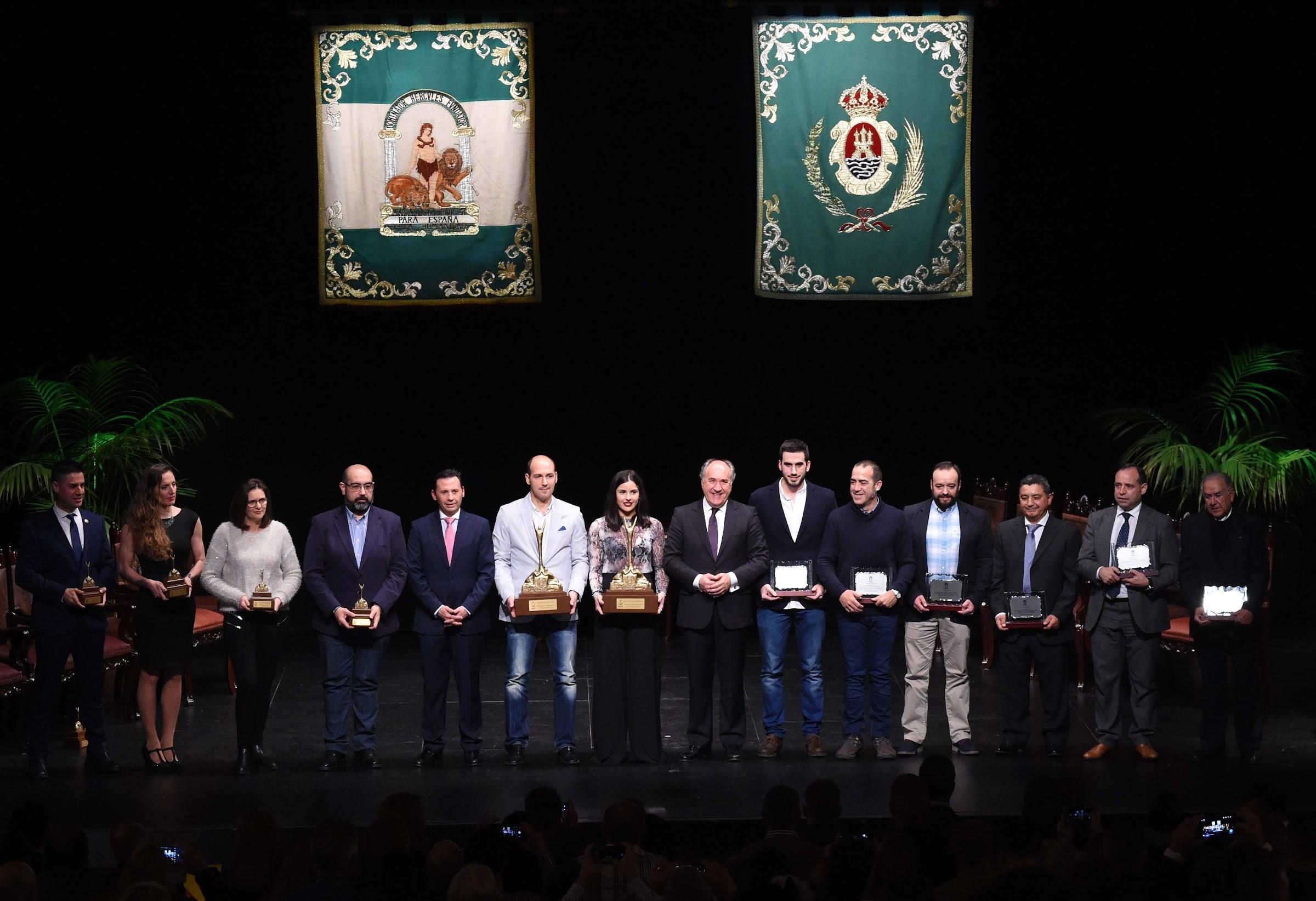 Paula Valdivia y el Club Waterpolo Algeciras, elegidos Deportista y Club Especial del Año 2018