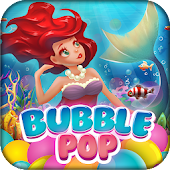 Bubble Pop Mermaids: Ocean Kingdom Adventure Android APK Download Free By Bubble Quest & Free Bubble Pop By Difference Games