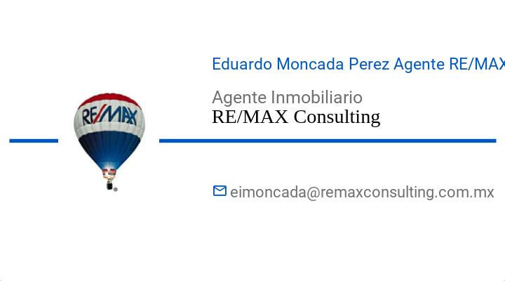 BusinessCard of Eduardo Moncada Perez Agente RE/MAX