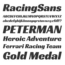 Photo: Racing Sans Released: http://www.impallari.com/projects/overview/racing-sans