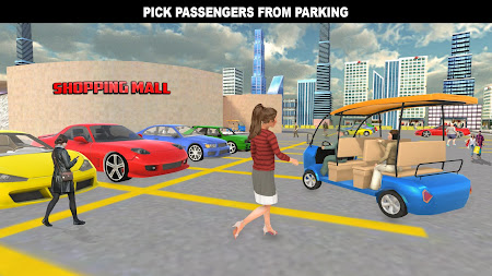 Shopping Mall Rush Taxi: City Driver Simulator 1.1 screenshot 2093858