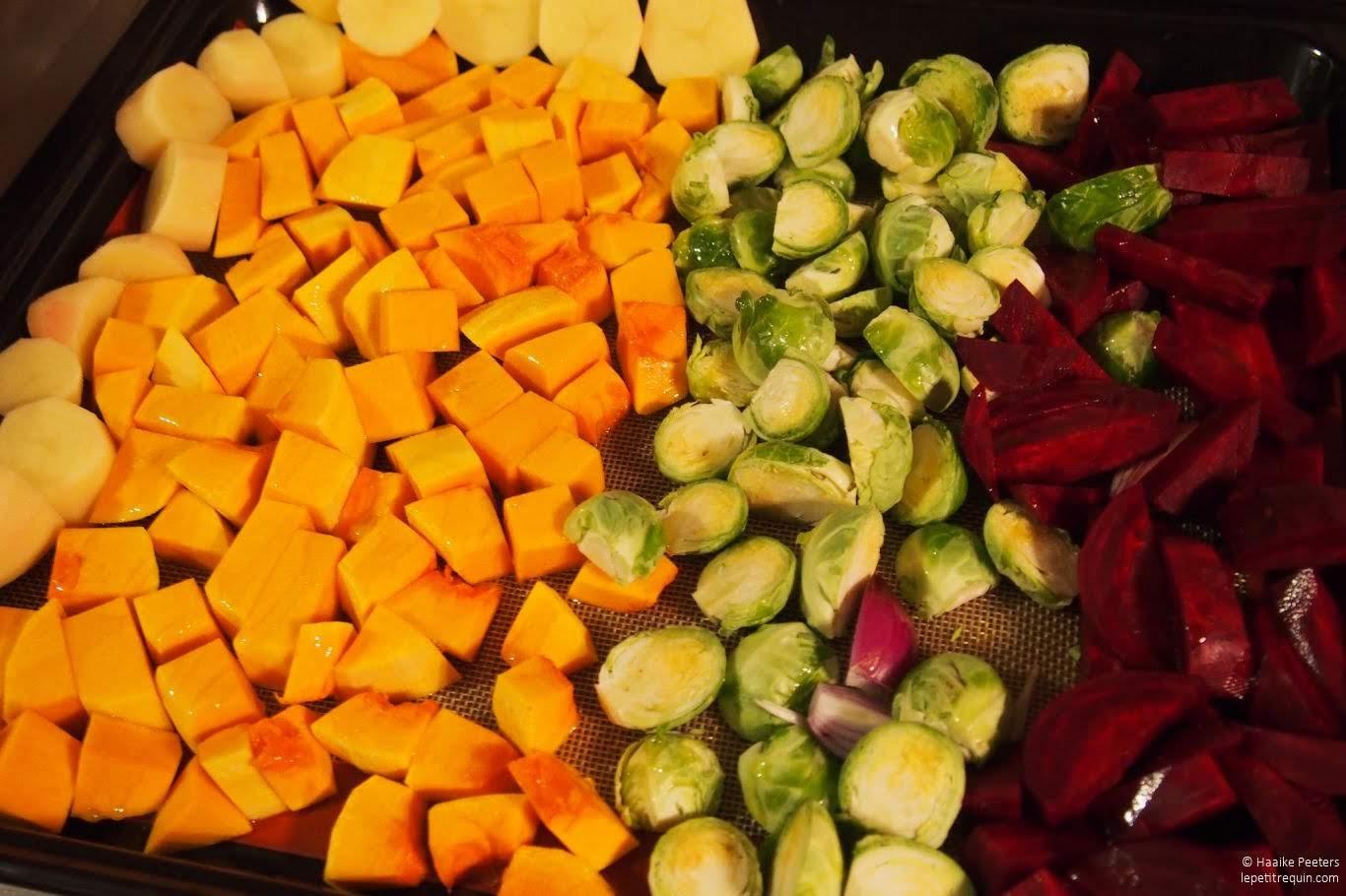 Groenten roosteren in de oven (Le petit requin)