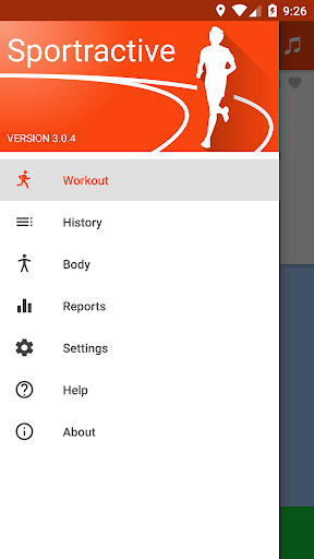 Sportractive GPS Running Cycling Distance Tracker Fitness app screenshot 1 for Android