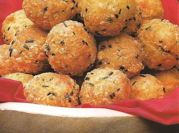 Cheese And Chive Croquettes Recipe