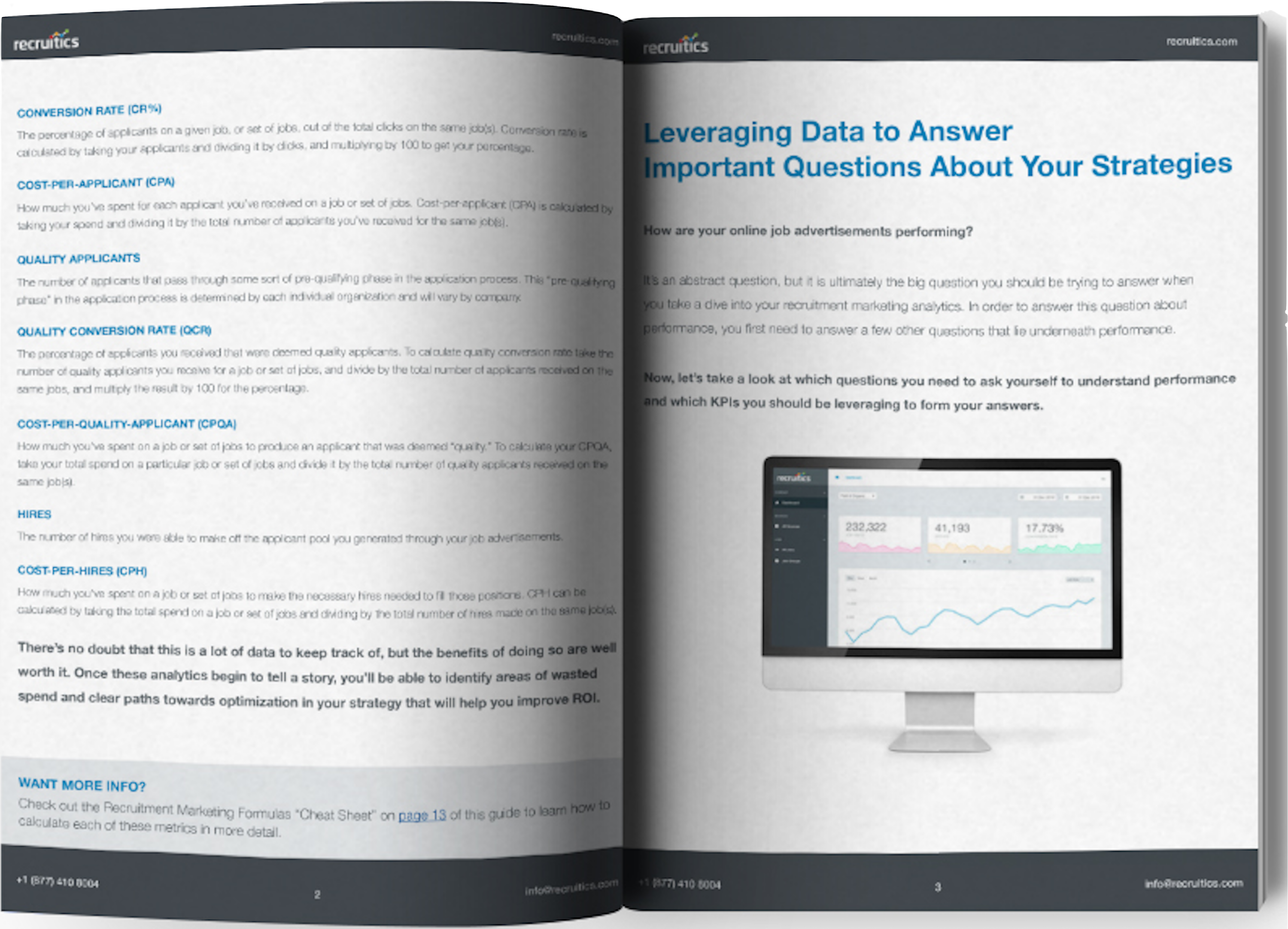 2017 Guide to Recruitment Marketing Analytics ebook image