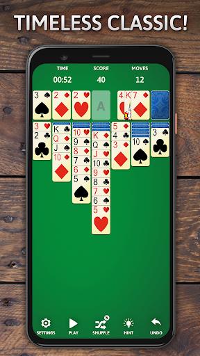 Solitaire Classic Era - Classic Klondike Card Game screenshots 1