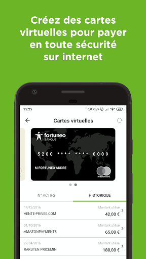 Fortuneo, mes comptes banque & bourse en ligne 8.3.3 Screenshots 4