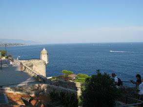 Photo: View on Mediterranean sea from Monaco-Ville