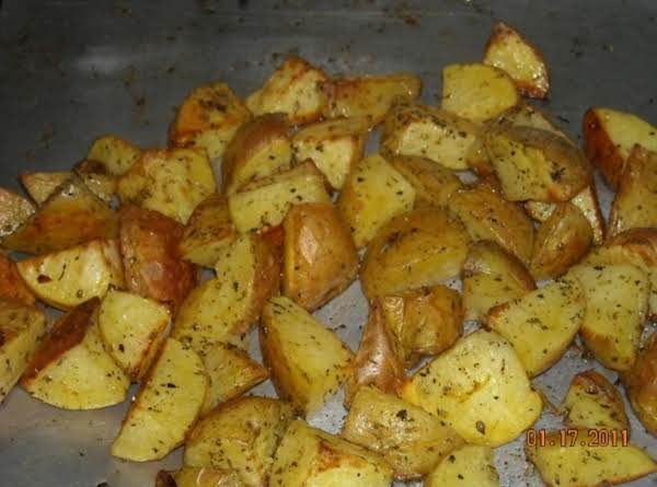 C's Oven Roasted Potatoes