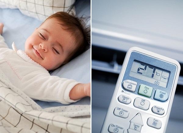 Độ ẩm và nhiệt độ phòng cho trẻ sơ sinh bao nhiêu là phù hợp?