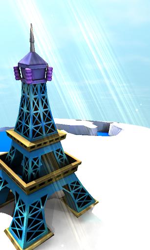 巴黎埃菲爾鐵塔3D動態壁紙