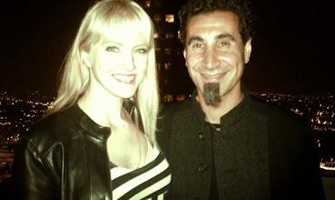 Photo: Me & Serj, Imperfect Harmonies release party