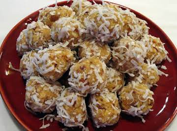 Orange Blossom Balls
