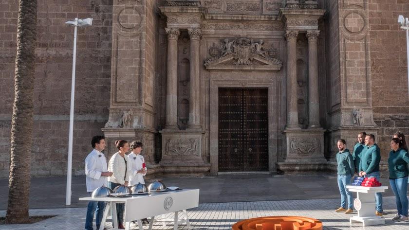 La Plaza de la Catedral, escenario de una de las pruebas del programa.