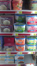 Photo: I love sherbet because it is lite and so refreshing.  I decided to check out a few brands I have not tried before.