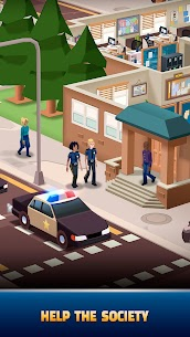 Idle Police Tycoon — Cops Game MOD APK [Unlimited Money] 1.2.0 4