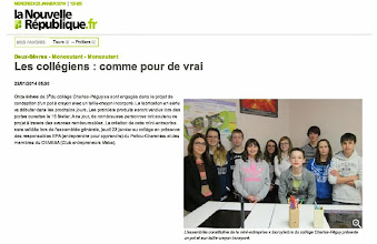 Photo: 2014-01-22 NR Les collégiens comme pour de vrai