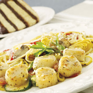 Scallop Pasta Mushroom Tomato Recipes