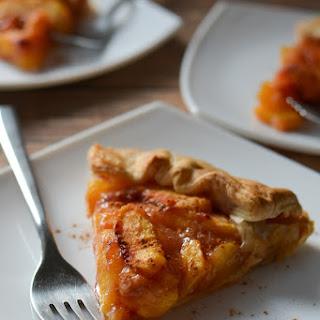 Ginger Peach Galette