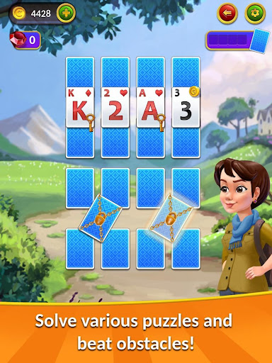 Kings&Queens: Solitaire Tripeaks android2mod screenshots 16