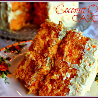 Aunt Ann's Coconut Orange Cake!.