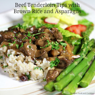 Beef Tenderloin Tips