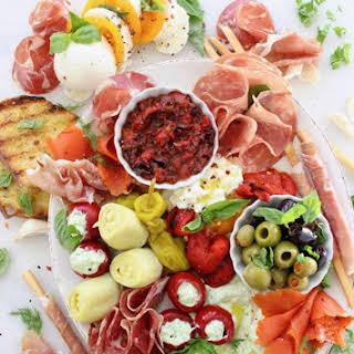 Italian Antipasto Platter.