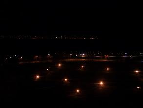Photo: Views over Belgrade at night.