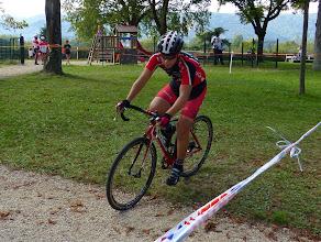 Photo: Pierre pour sa première course en junior.