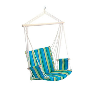 Hamac suspendat tip scaun, 86 x 56 cm, capacitate 120 kg