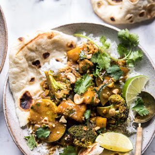 Simple Coconut Mango Chicken and Broccoli Curry.