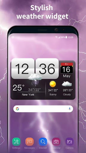 World weather widget&Forecast 16.6.0.46770 screenshots 1