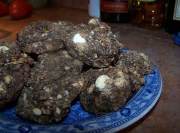 Chocolate Zucchini Cookies
