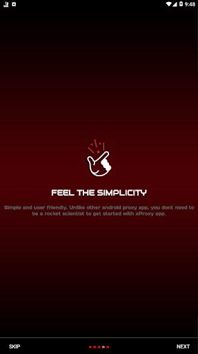 X Web Proxy Unblock Sites 3.0 screenshots 5