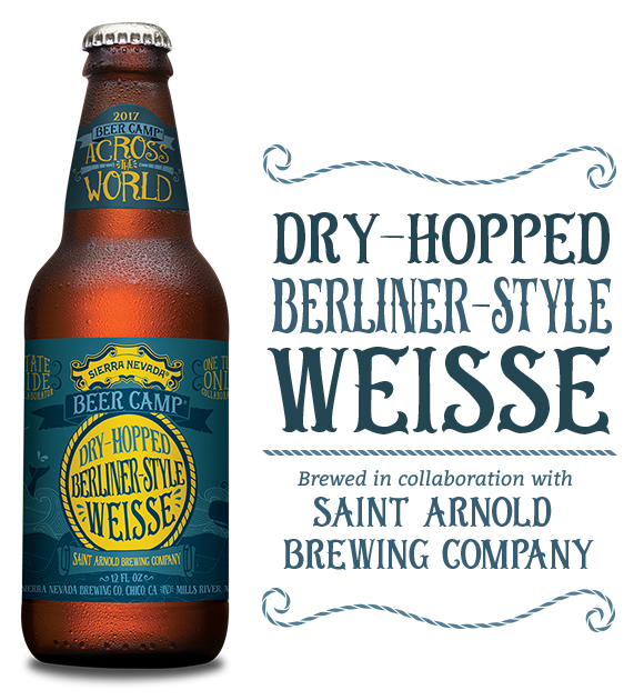 Logo of Sierra Nevada Beer Camp 2017: Dry-Hopped Berliner-Style Weisse (Saint Arnold Collab)