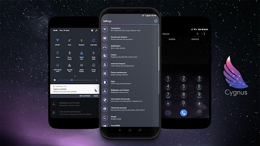 Cygnus [Samsung Substratum Theme] 7 953 (Patched) APK for