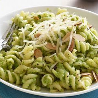 Fusilli with Broccoli Pesto.