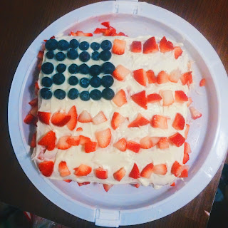 Strawberry America Cake Recipe