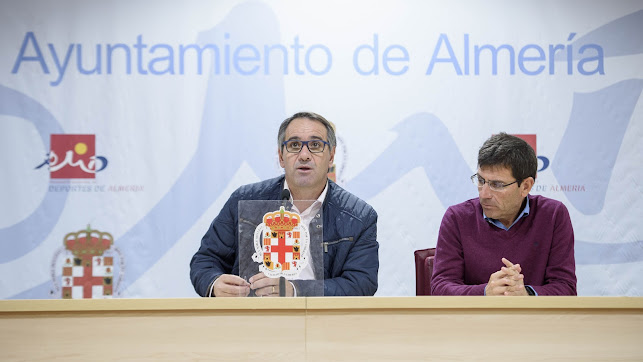 Juanjo Segura y Antonio Orta en la presentación de los JDM.
