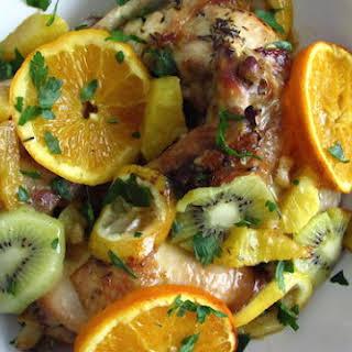 Kiwi Fruit Chicken Recipes.
